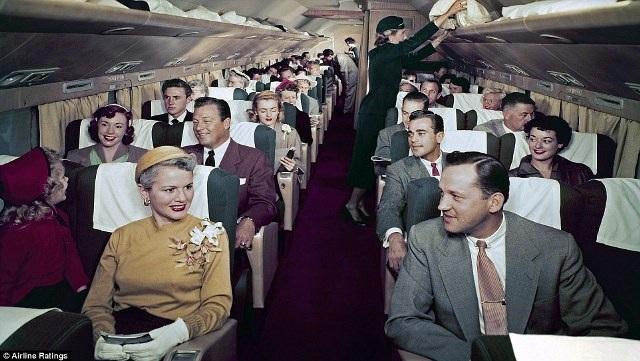 """""""Thượng đế"""" ngành hàng không những năm 50 sang trọng, lịch thiệp cỡ nào? - 2"""