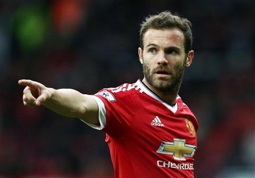 Juan Mata đang giành được sự quan tâm lớn từ Everton và Valencia