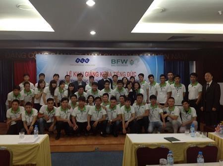 Khai giảng khóa đào tạo chương tình hợp tác Việt Nam-CHLB Đức