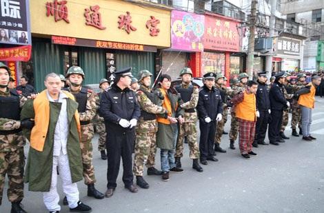 4 tên giết người cướp vàng ở hiệu vàng Thuận Thông.