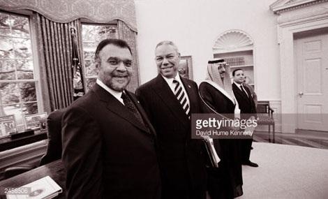 Hoàng tử Bandar bin Sultan có mối quan hệ thân thiết với giới chức Mỹ. Ảnh: Getty.