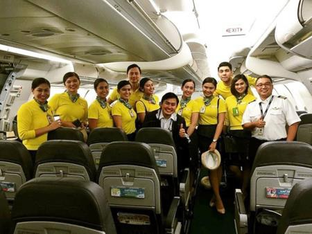 Thành viên tổ bay trong chuyến bay từ Dubai đến Manila