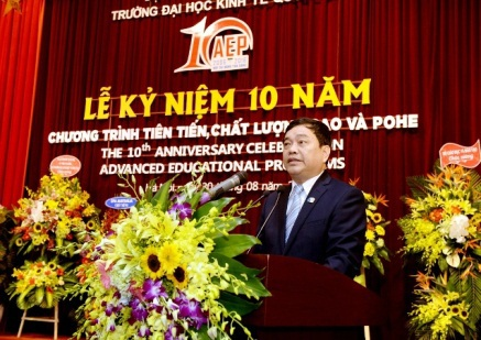 GS.TS Trần Thọ Đạt, Hiệu trưởng trường ĐH Kinh tế quốc dân
