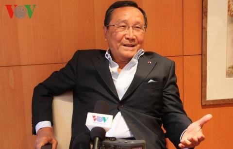 Chủ tịch tập đoàn Eurobail Hoàng Chúc.