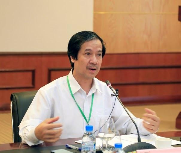 Giám đốc ĐH Quốc gia Hà Nội Nguyễn Kim Sơn