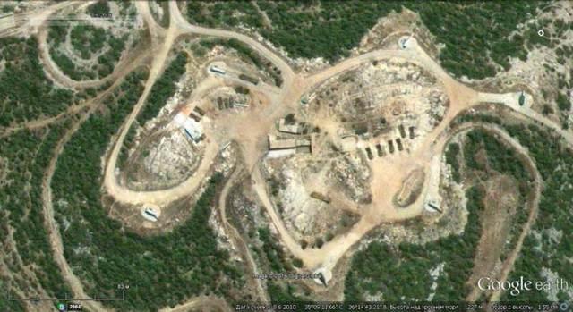 Ảnh Google earth: Trận địa S-200V ở ngoại ô Tartus