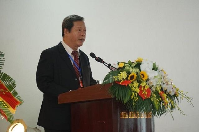 Đại biểu Nguyễn Huy Cận – Chủ tịch Hội Khuyến học thành phố Hồ Chí Minh