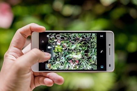 Cận cảnh LAI Yuna S phiên bản vàng hồng: Sắc màu thời thượng, camera chuyên selfie 8.0 MP - 3