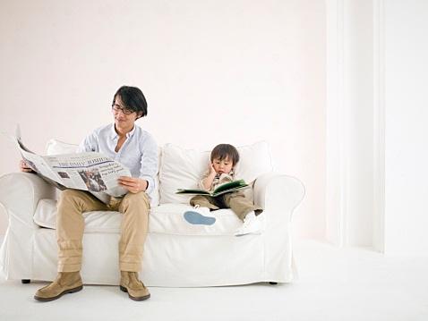 Trẻ em Nhật Bản học chữ từ khi còn rất nhỏ.