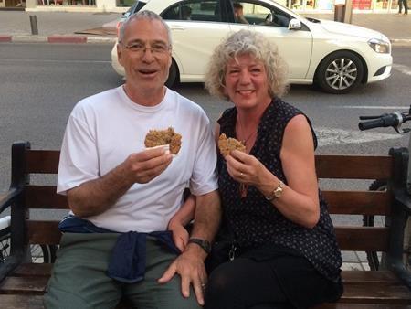 Cùng thưởng thức ẩm thực đường phố Israel