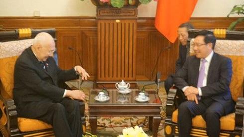 Gặp gỡ ông Phạm Bình Minh, Phó Thủ tướng Chính phủ, Bộ trưởng ngoại giao Việt Nam