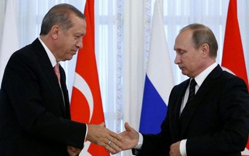 Quan hệ Nga - Thổ Nhĩ Kỳ đang ấm dần. (Ảnh: Reuters)