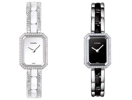 Đồng hồ Chanel Premier Ceramic and Diamonds Ladies với hai phiên bản ceramic trắng và đen có giá hơn 566 triệu đồng.