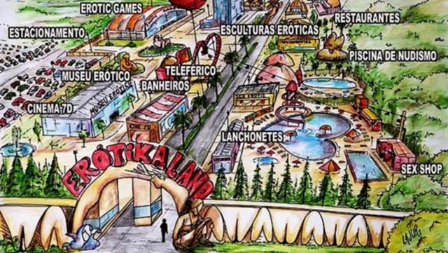 Công viên Erotkaland hiện đang trong quá trình xây dựng nằm gần thành phố Piracicaba, Brazil. Dự kiến, công viên này sẽ được hoàn thành vào năm 2018.