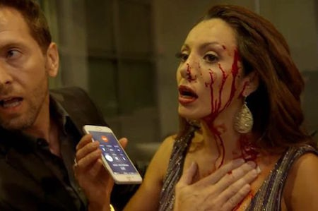 Victoria del Rosal cũng bị thương nặng