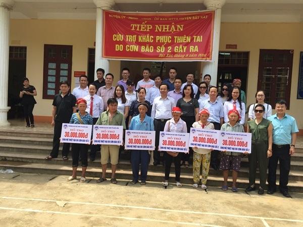 Trường ĐH Kinh tế quốc dân chung tay xây nhà mới cho hộ nghèo Lào Cai bị lũ cuốn trôi nhà cửa - 3