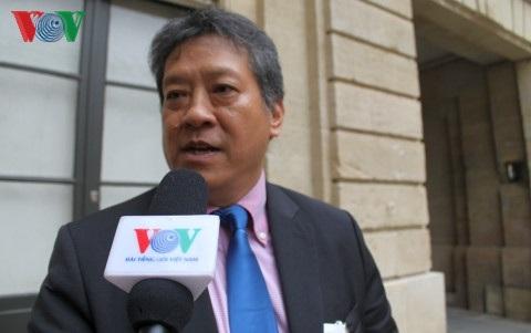 Chủ tịch Hội Doanh nhân Việt Nam tại Pháp (ABVietFrance) ông Nguyễn Hải Nam.