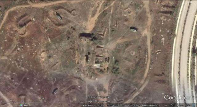 Ảnh Google earth: trận địa S -125-2М tại Latakia