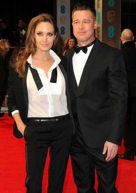 Angelina Jolie và Brad Pitt từng là cặp đôi đẹp của làng giải trí