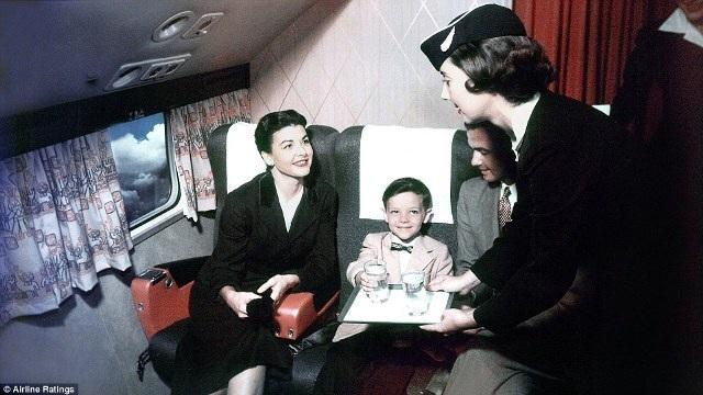 """""""Thượng đế"""" ngành hàng không những năm 50 sang trọng, lịch thiệp cỡ nào? - 4"""