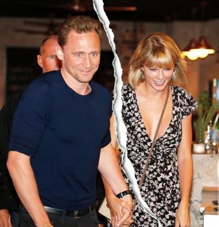 Taylor Swift vừa chia tay với Tom Hiddleston