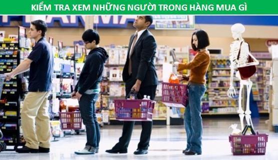 Bí quyết xếp hàng khi đi siêu thị để nhanh đến lượt nhất - 4