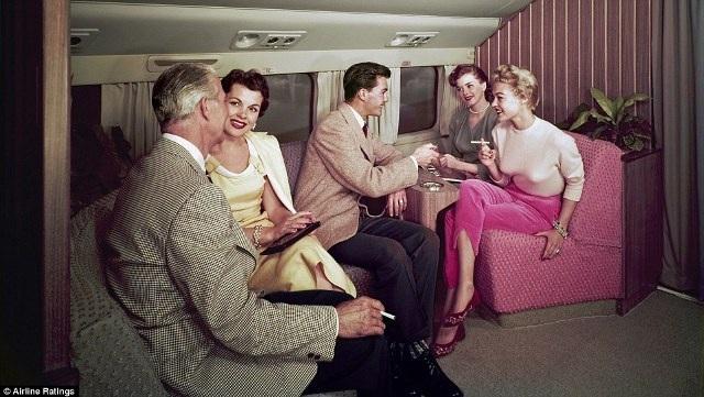 """""""Thượng đế"""" ngành hàng không những năm 50 sang trọng, lịch thiệp cỡ nào? - 5"""