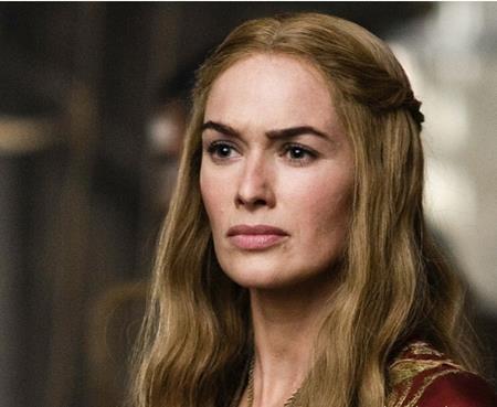 Bà hoàng Cersei Lannister do Lena Headey thủ vai…