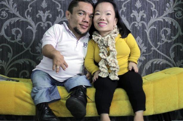 Họ đang mong chờ được công nhận chính thức là cặp đôi lùn nhất thế giới