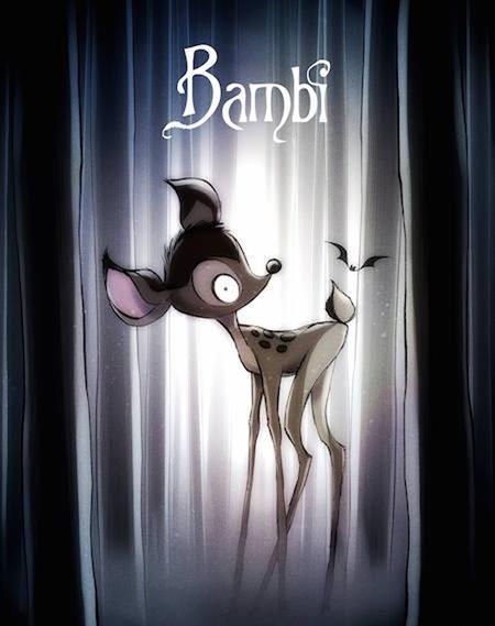 Chẳng còn cô nàng Bambi dễ thương…