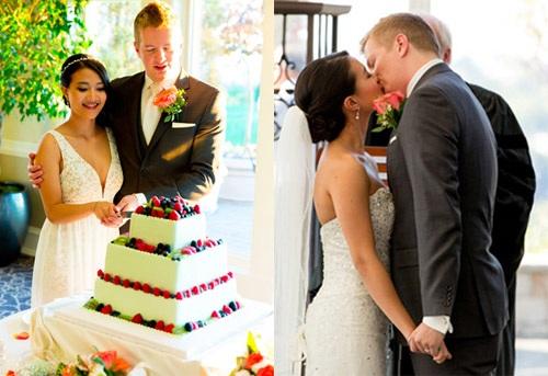 Cặp đôi Việt - Mỹ kết hôn vào năm 2014