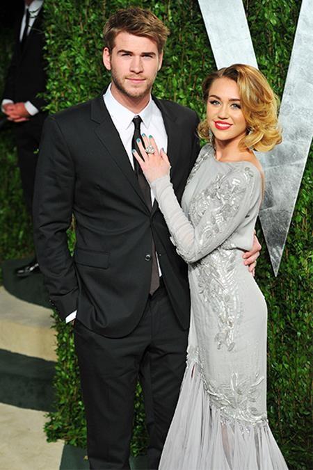 Ở bên Liam, Miley đang dần lấy lại một hình ảnh nữ tính hơn
