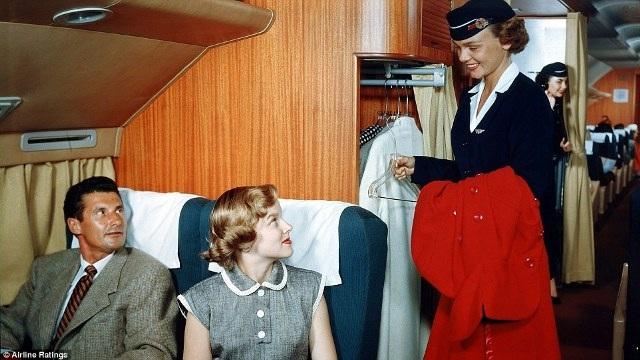 """""""Thượng đế"""" ngành hàng không những năm 50 sang trọng, lịch thiệp cỡ nào? - 7"""