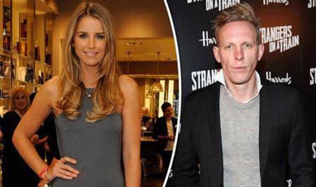 Vogue Williams bị đồn hẹn hò cùng Laurence Fox