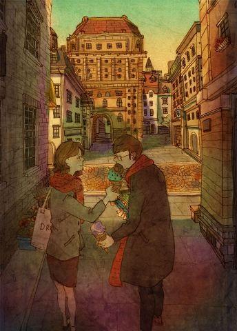 """""""Mềm tim"""" với những bức tranh chứng minh tình yêu đích thực - 9"""