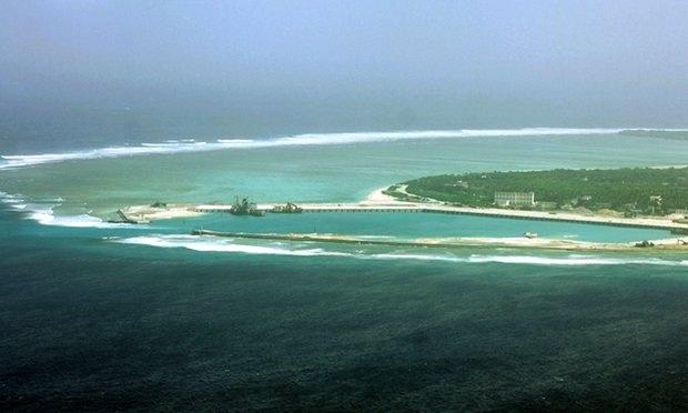 Đảo Phú Lâm thuộc quần đảo Hoàng Sa của Việt Nam hiện bị Trung Quốc chiếm đóng trái phép. (Ảnh: AFP)