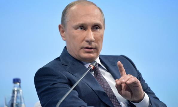 Tổng thống Nga Vladimir Putin. (Ảnh: RT)