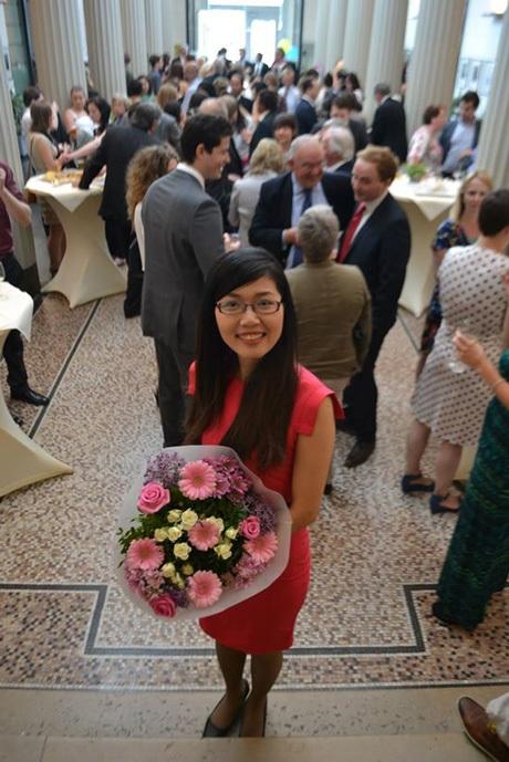 Tác giả Quỳnh Nga từng giành 2 học bổng toàn phần Thạc sĩ và Tiến sĩ tại Hà Lan.