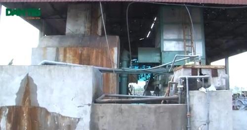 Khí từ lò đốt được xử lý trước khi thải ra môi trường