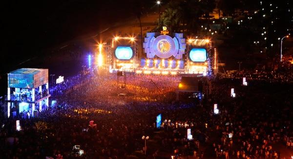 Tiger Remix 2016 đã biến đêm cuối tuần ở thành phố biển trở nên hứng khởi hơn bao giờ hết