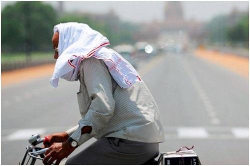 Say nắng thường gặp khi nhiệt độ tăng quá cao (ảnh: Internet)