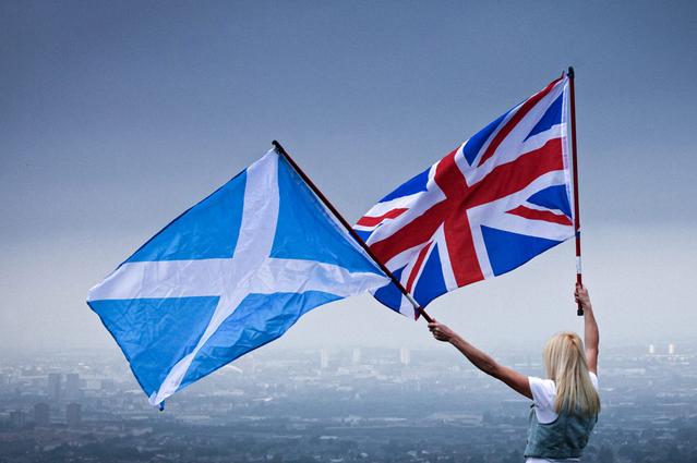 Scotland không loại trừ khả năng sẽ trưng cầu dân ý lần 2 để tách khỏi Anh. (Ảnh: Mirror)