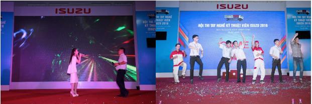 Đánh dấu kết thúc cho một ngày dài thi đấu là đêm Gala chương trình với vô số tiết mục đặc sắc như ca hát, trò chơi tương tác giữa MC và khán giả. Dù đã thấm mệt, nhưng các thí sinh vẫn rất tích cực tham gia, thể hiện tinh thần lao động hăng say và giải trí nhiệt tình rất riêng của ISUZU.