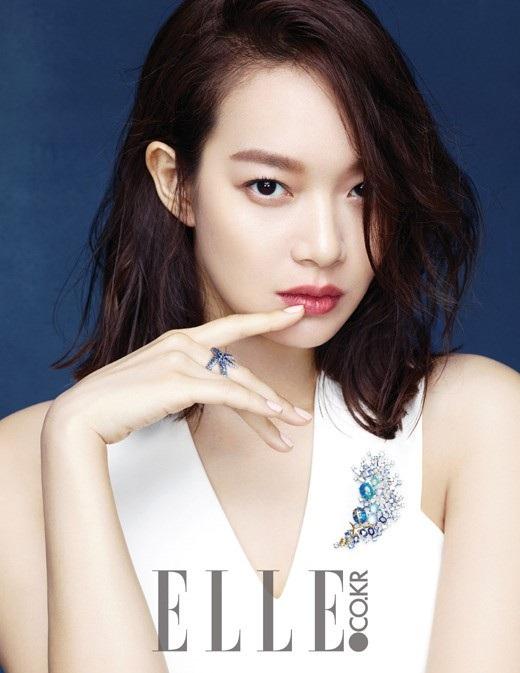 """Năm ngoái, Shin Min Ah góp mặt trong bộ phim truyền hình """"Oh My Venus""""."""