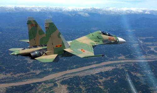 Sau khi cất cánh được ít phút, chiếc tiêm kích Su - 30MK2, cùng 2 phi công đã mất tích.