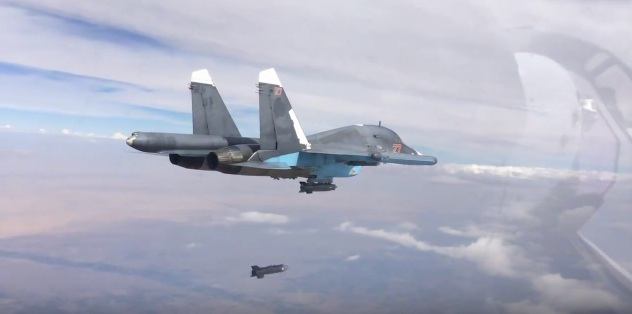 Máy bay Su-34 của Nga. (Ảnh: Theaviationist)