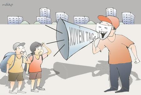 Cần có biện pháp xử lý mạnh tay hơn đối với HDV Trung Quốc thuyết minh xuyên tạc về lịch sử Việt Nam ngay trên đất nước chúng ta. (Ảnh: Ngọc Diệp).