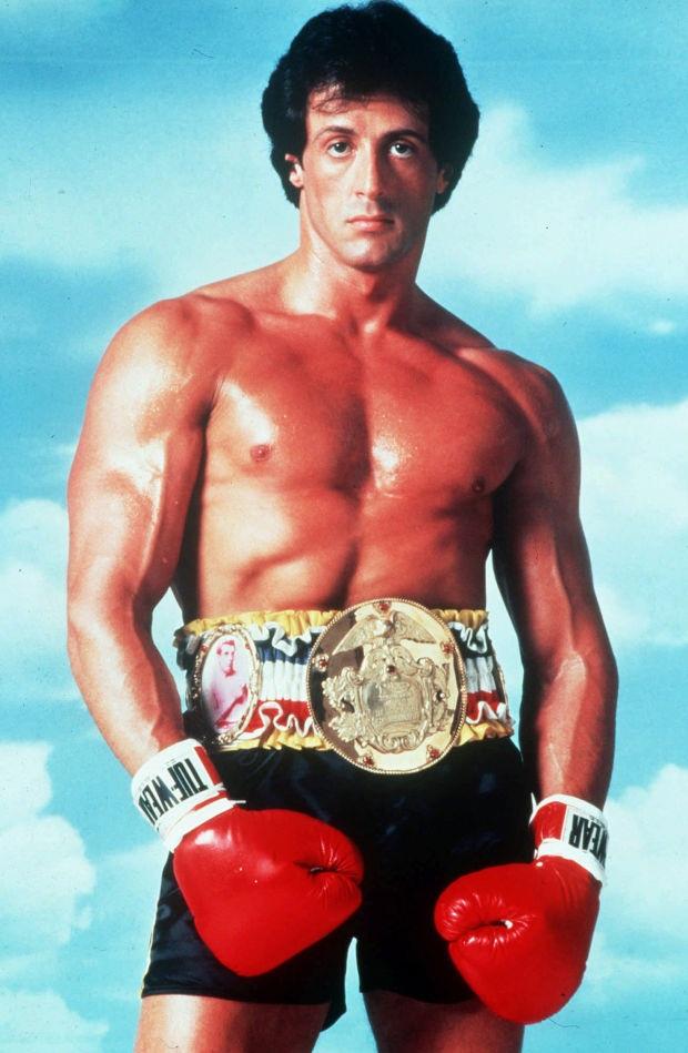 Sylvester Stallone thời đỉnh cao. Ông từng giành giải Quả Cầu Vàng và 3 lần được đề cử giải Oscar.