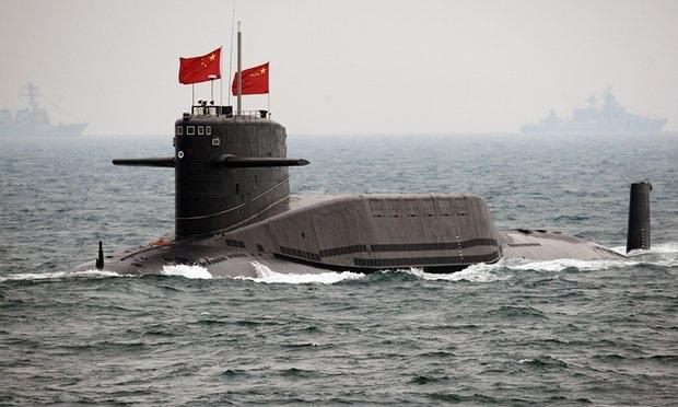 Một tàu ngầm của Hải quân Trung Quốc. (Ảnh minh họa: Guardian)