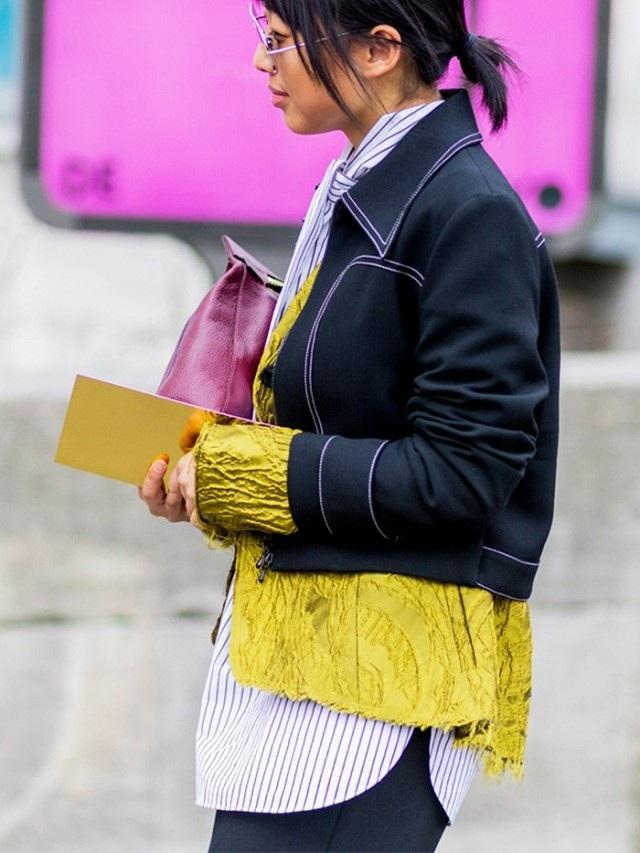 Bạn có dám mặc tới 3 lớp áo dài ngắn khác nhau ra phố?